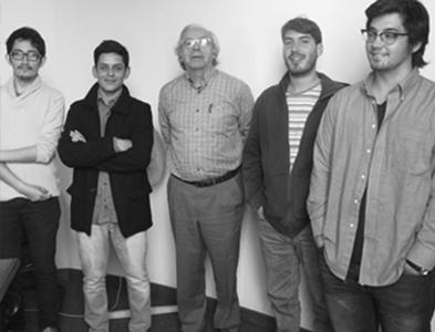 Decano recibe a estudiantes de Arquitectura ganadores de la XIX Bienal
