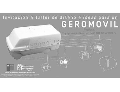 Invitacion Geropolis UVA 1401: Taller Diseño e Ideas para un GEROMOVIL